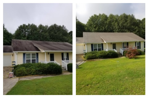 Roof Cleaning Anderson SC